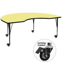 Flash Furniture XUA4872KIDNYYELTPCASGG