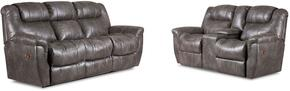 Montgomery Collection 216430314SL 2-Piece Living Room Set with Sofa and Loveseat in Padre Grey