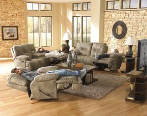 Voyager Collection 64381-1228-49/1328-49SET 3 PC Living Room Set with Power Lay Flat Reclining Sofa + Loveseat + Recliner in Brandy Color