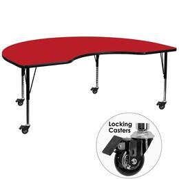 Flash Furniture XUA4896KIDNYREDHPCASGG