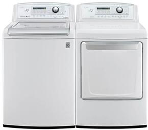 White Laundry Pair with WT5270CW 27