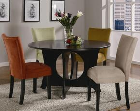 Castana 101661SET 5 PC Dining Room Set with Table + 4 Side Chairs in Cappuccino Finish