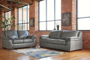 Islebrook Collection 1520238SL 2 PC Living Room Set with Sofa + Loveseat in Iron Color