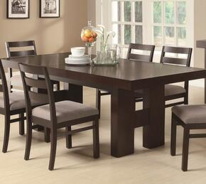 103101SET5 Dabny 5 Pcs Cappuccino Dining Set (Table and 4 Chairs) by Coaster Co.