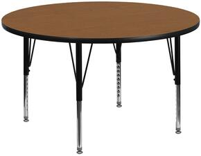 Flash Furniture XUA60RNDOAKTPGG