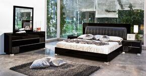 VIG Furniture VGACGRACESETBLKQ