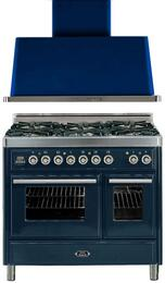 2-Piece Midnight Blue Kitchen Package with UMTD1006DMPBL 40