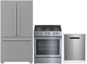 3-Piece Kitchen Package with BRFD2230SS 36