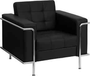 Flash Furniture ZBLESLEY8090CHAIRBKGG