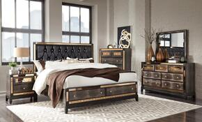 Global Furniture USA MIRRORCHOCQBSTORAGESET