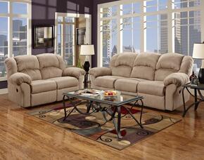 1000-SC-SLR Verona IV 3 Piece Ambrose Living Room Set,  Sofa + Loveseat + Rocker Recliner, in Sensations Camel