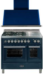 2-Piece Midnight Blue Kitchen Package with UMTD100SDMPBL 40