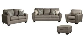 Calicho Collection 91202SLCO 4-Piece Living Room Set with Sofa, Loveseat, Chair and Ottoman in Cashmere