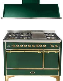 2-Piece Emerald Green Kitchen Package with UMC120FDMPVS 48