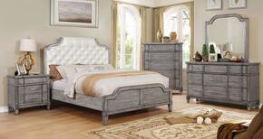 Furniture of America CM7856CKBEDSET