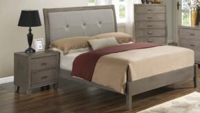 G1205AKBN 2 Piece Set including King Bed and Nighstand  in Grey