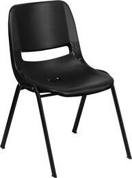 Flash Furniture RUTEO1BKGG