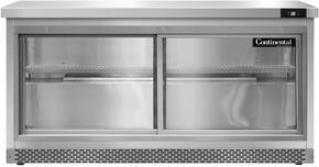 Continental Refrigerator SW60SGDFB