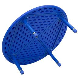 Flash Furniture YUYCX0052ROUNDTBLBLUEGG