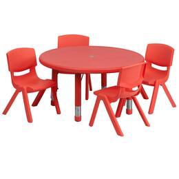 Flash Furniture YUYCX00732ROUNDTBLREDEGG