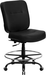 Flash Furniture WL735SYGBKLEADGG