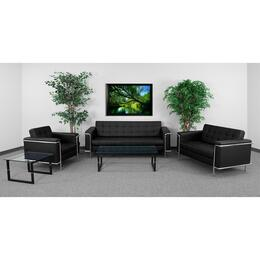 Flash Furniture ZBLESLEY8090SETBKGG