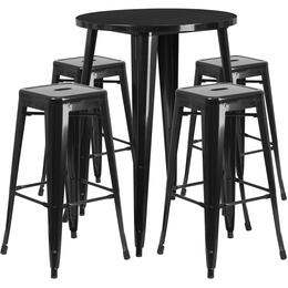 Flash Furniture CH51090BH430SQSTBKGG