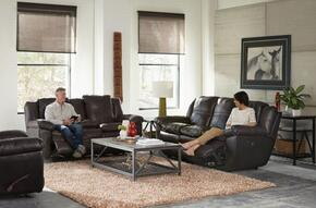 Aria Collection 4191-1283-09/3083-09SET 3 PC Living Room Set with Lay Flat Reclining Sofa + Loveseat + Recliner in Chocolate Color
