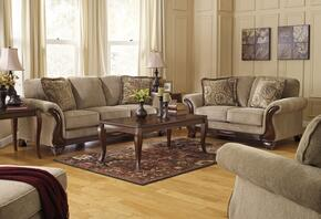 Lanett 44900SET4PC 4-Piece Living Room Set with Sofa, Loveseat, Chair and Ottoman in Barley
