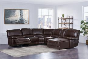 Global Furniture USA U1953SECLSFRRSFCHS