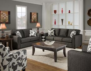 FS3560-SLC Verona VI 3 Piece Bergen Living Room Set, Sofa + Loveseat + Chair, in Talbot Onyx