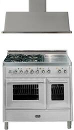 2-Piece Stainless Steel Kitchen Package with UMTD100SDMPI 40