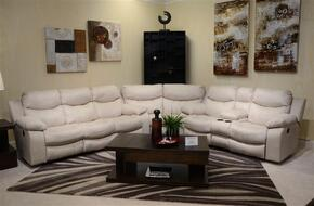 Catalina Collection 64311-1262-01/3062-01SECR 3 PC Sectional Sofa Set with Power Reclining Sofa + Loveseat + Wedge in Ice Color