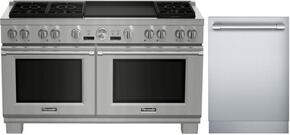2-Piece Stainless Steel Kitchen Package With PRD606REG 60