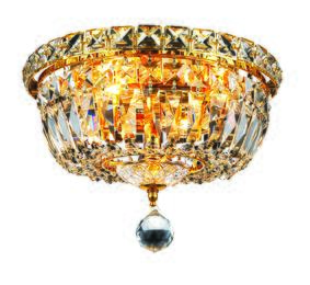 Elegant Lighting 2528F10GRC