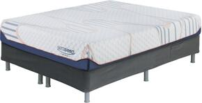 10 Inch MyGel Collection M75721-M86X22 Set of Mattress and Riser Foundation in Full Size