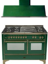 2-Piece Emerald Green Kitchen Package with UM150SDMPVSY 60
