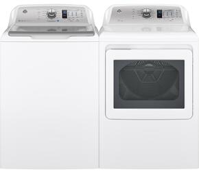 White Top Load Laundry Pair with GTW680BSJWS 27
