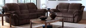 2089730PCHSL Pebble Beach 2 Piece Manual Recline Living Room Set with Sofa and Loveseat, in Chocolate