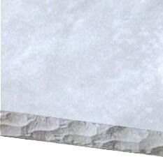 Distressed Gray Chisel Edge Countertop Option for 5 ft. Grill Island
