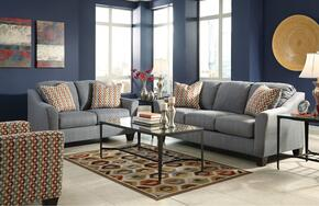 Hannin 95802SLAC 3-Piece Living Room Set with Sofa, Loveseat and Accent Chair in Lagoon