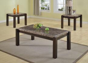 Dwayne 80791CE 3 PC Living Room Table Set with Coffee Table + 2 End Tables in Emparedora Gray Finish