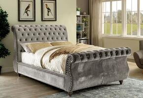 Furniture of America CM7128GYQBED