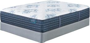 Mt. Dana Plush Collection M78851-M81X52 California King Mattress Set with Mattress and 2-Piece Foundation