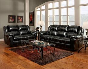 1000-TB-SLR Verona IV 3 Piece Ambrose Living Room Set, Sofa + Loveseat + Rocker Recliner, in Taos Black