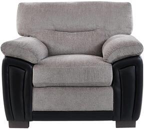 Global Furniture USA UMC7SUBARUOATBLACKPVCCH