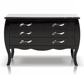 VIG Furniture VGKCMONTEBLKDR