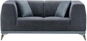 Global Furniture USA U833H1017DARKGR8989ALS