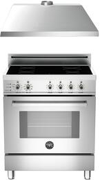 "2-Piece Stainless Steel Kitchen Package with PRO304INSX 30"" Induction Range and KU30PRO1XV 30"" Range Hood"
