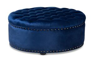 Wholesale Interiors 532ROYALBLUEOTTO